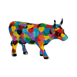 CowParade Heartstanding Cow M