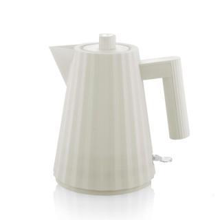 Alessi Plissè Bollitore Elettrico Bianco 1 litro