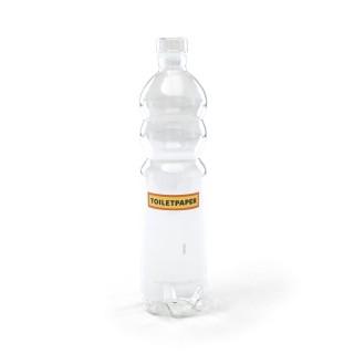 Bottiglia vetro Seletti Toiletpaper estetico quotidiano