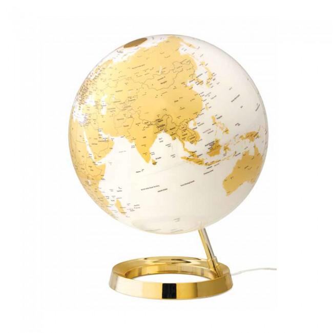 Mappamondo Light&Colour Ø30cm Gold inglese
