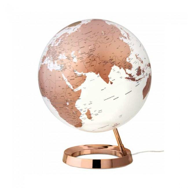 Mappamondo Light&Colour Ø30cm Copper inglese